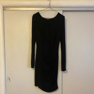Express ruched sweater dress size M